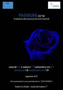 Teatro Le Sedie.Passioni Concorso Di Corti Teatrali Al Teatro Le Sedie Di