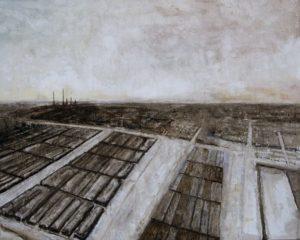 4. Filippo Cristini, La Terza Roma, olio su tela, 160x200 cm, 2016